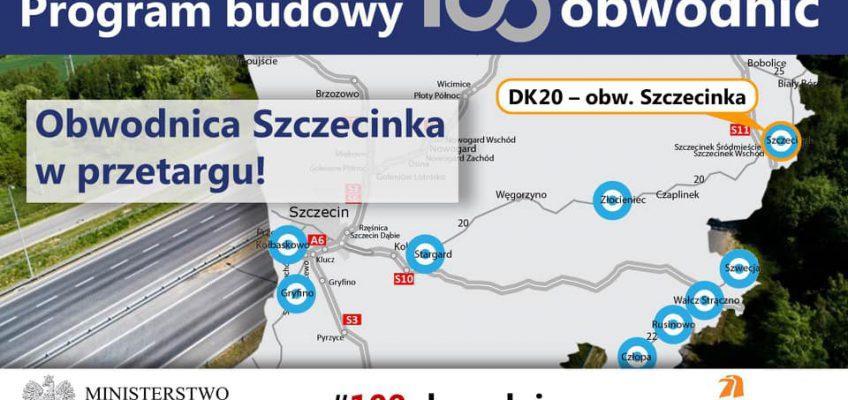Łącznik obwodnicy Szczecinka staje się faktem